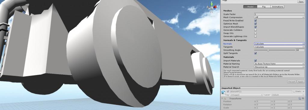 Blender model looks wrong in Unity3D - HIVE-RD BLOG
