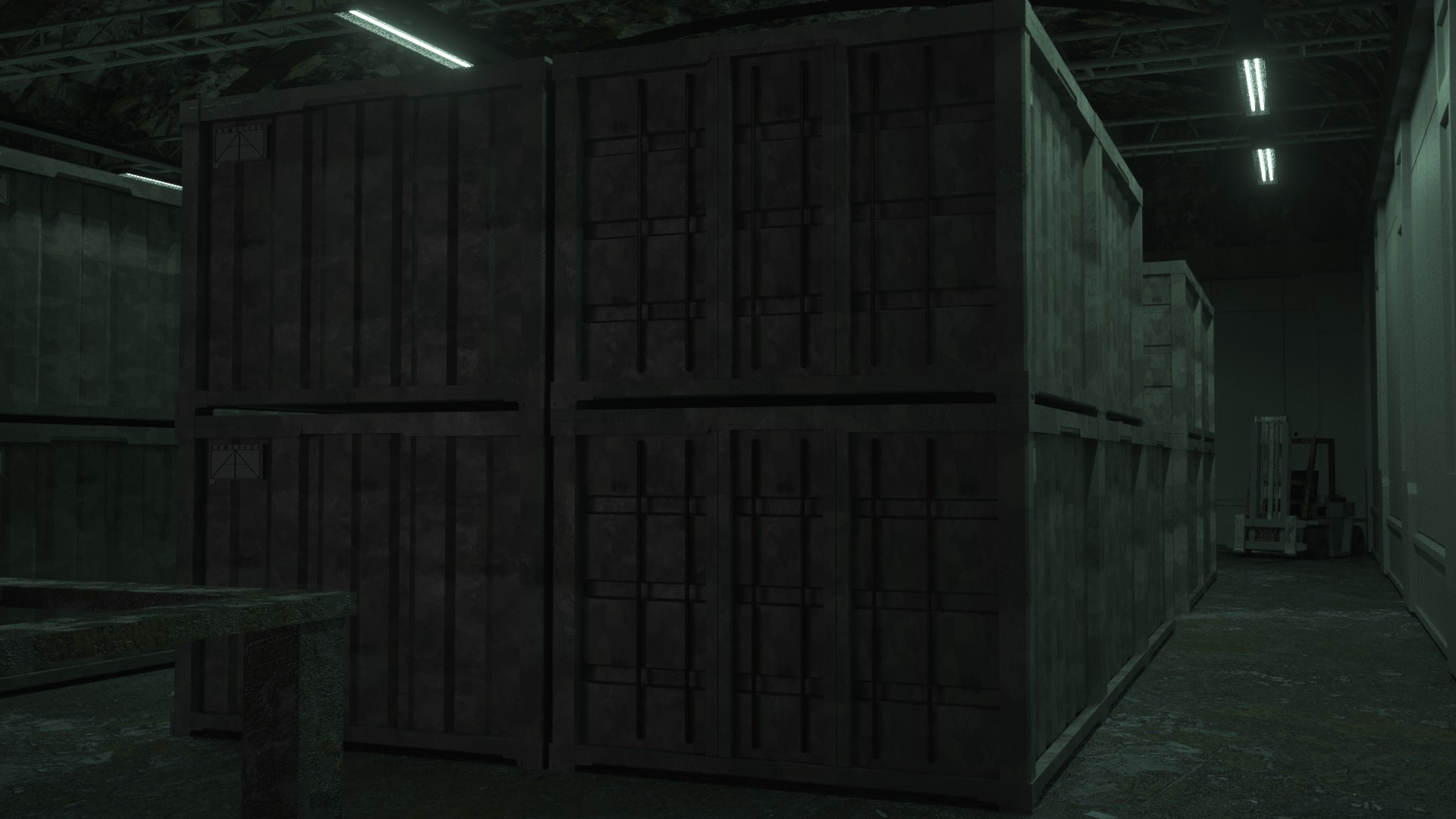 metal gear solid architectural render